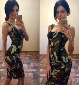 Платье облегающее летнее новое
