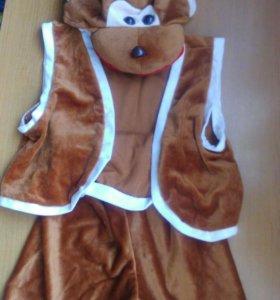 Новогодние костюмы. Пингвин и обезьяна