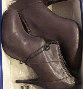 Новые ботинки осень весна 39