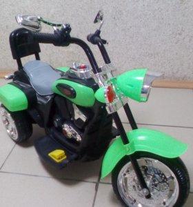 Велосипед детский HARLEY электро