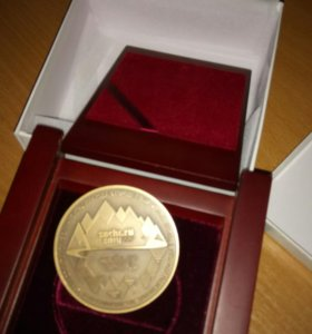 Памятная медаль Сочи 2014 от Президента РФ.