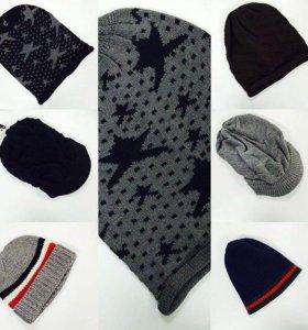 шапки мужские
