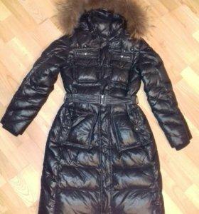 Теплое синтепоновое пальто