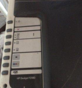 Принтер hp DeskJet f2180