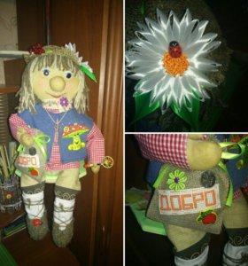 Текстильная кукла.Домовой.Оберег