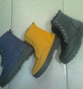 Новинка .Женские ботинки зима.