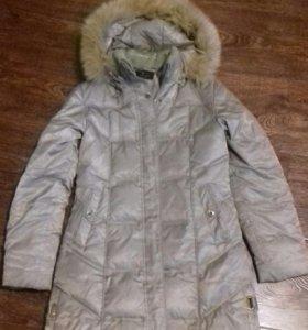 Пуховое пальто,зимнее