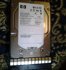 Серверный жёсткий диск HP