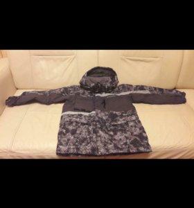 Куртка детская, брюки в подарок(10-12)