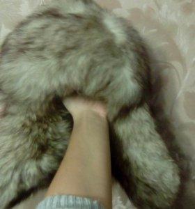 Шапка зименяя(песец)