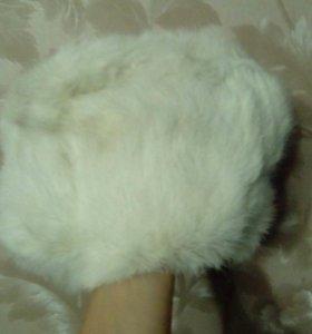 Шапка - формовка(натуральный кролик)