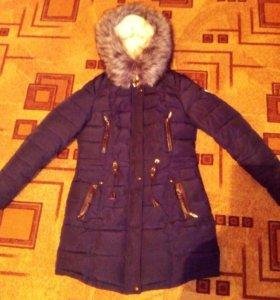 Пальто-парка зимнее