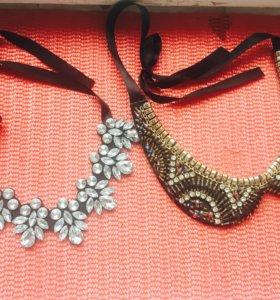 Бабочка и ожерелье