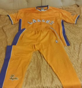 Разминочниый баскетбольный кастюм Lakers