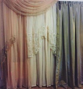 Ткани, тюли , шторы