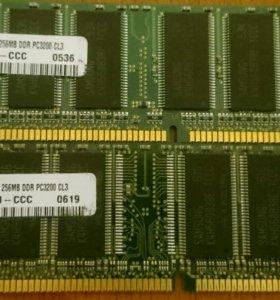 Оперативная память Samsung PC3200U-30331-Z 256MB