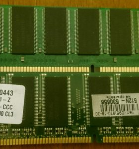 Оперативная память Samsung PC3200U-30331-Z 512MB