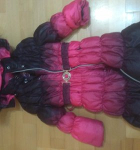 Детский пуховик пальто