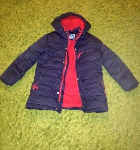 Куртка зимняя для мальчиков ,