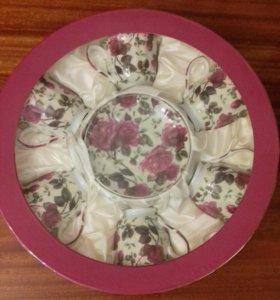 Новый Фарфоровый чайный набор