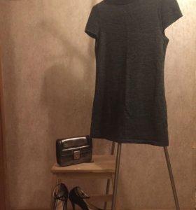 Платье, сумка и туфли