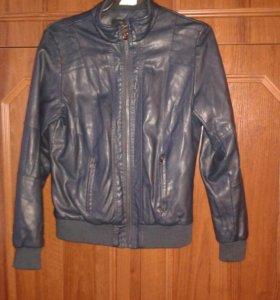 Кожаная куртка JINGPIN