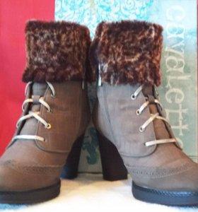 Женские зимние ботинки CAVALETTO из натуральной за