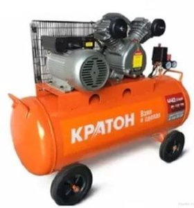 Компрессор с ременной передачей КРАТОН 440-100-BDV