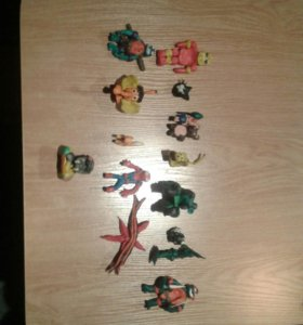 Пластилиновые герои из мультфильмов