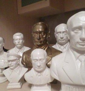 Бюсты лидеров Российской Империи