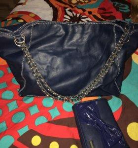 Кожаная сумка + подарок - Цена только на Март!