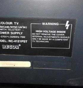 Телевизор Recor RC-4121 PST