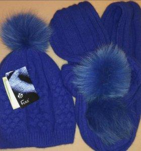 Комплект Ferz шапка+шарф