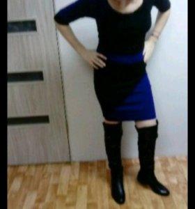 Платье тёплое бренд