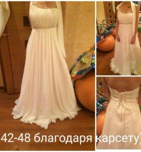 Платье в греческом стили.