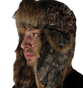 Зимнея шапка ушанка