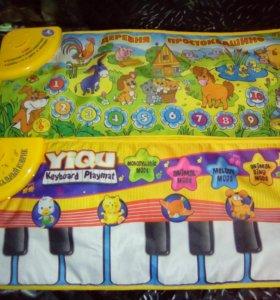 Музыкальные развивающие коврики.