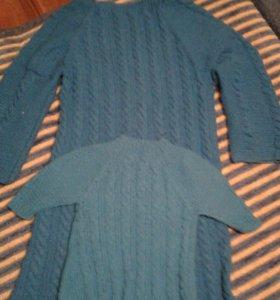 Платье для мамы и дочки.