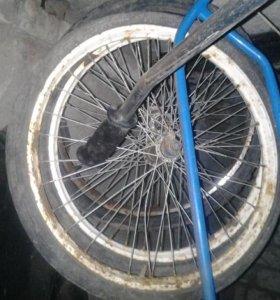 Колеса от велосипеда Кама