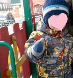 Зимний костюм для мальчика 😊