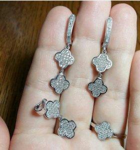 Комплект серебро в наличии