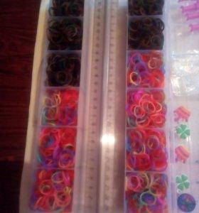 Набор резинок для браслетов и брелков.