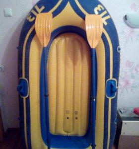 Продам лодку  выдерживает 154 кг