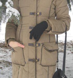 Пуховик MANGO зимний теплый