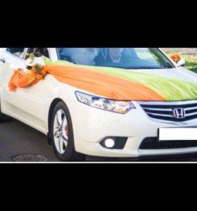 Свадебное украшение для машин