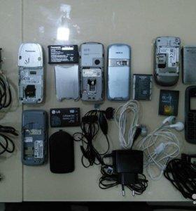 Panasonic EB-GD75, Nokia 6070, Nokia2760, LG KP105