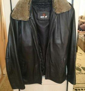 Куртка мужская, кожа натуральная.