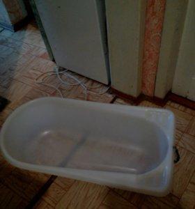 Ванночка пластмассовая