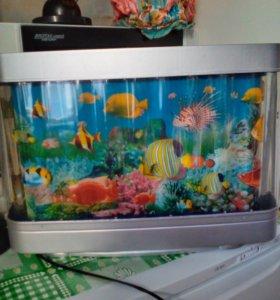 Лампа-аквариум