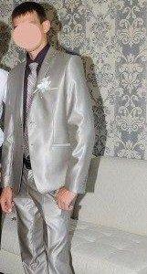 костюм Bernard Bocci (галстук в подарок).